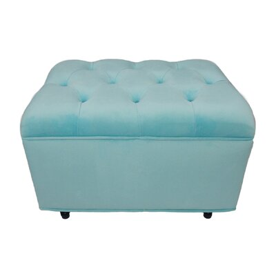 Fun Furnishings Tres Chic Velvet Ottoman
