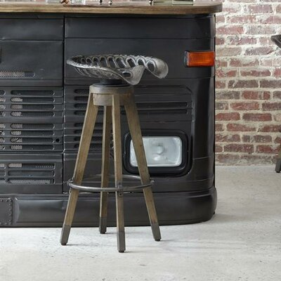 Highway To Home Boone Linville Farm Swivel Bar Stool