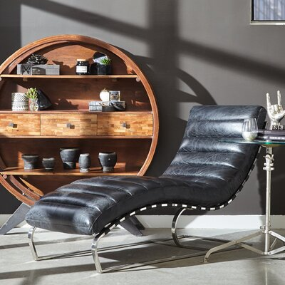 Highway To Home Intermission Leather Chaise Lounge
