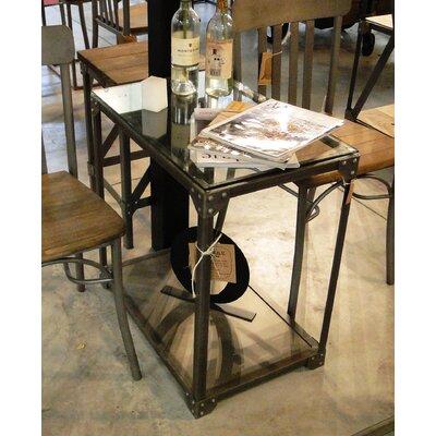REZ Furniture Industrial End Table