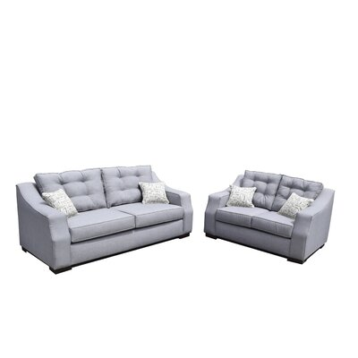 Gardena Sofa Cloe Sofa and Loveseat Set
