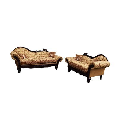 Gardena Sofa Monte Cristo Sofa and Loveseat Set