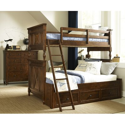 Wendy Bellissimo by LC Kids Big Sur By Wendy Bellissimo Twin over Full Futon Bunk Bed