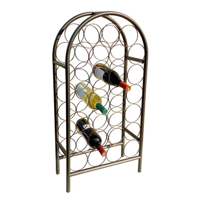 Old Dutch International Wyndham Road 27 Bottle Floor Wine Rack