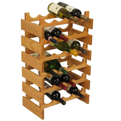 Wooden Mallet Dakota 24 Bottle Floor Wine Rack