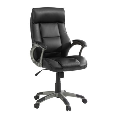 Sauder Gruga Manager's Mid-Back Leather Executive Chair II