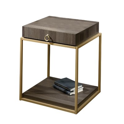 House of Hampton Alsager 1 Drawer End Table