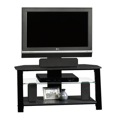 Sauder Beginnings TV Stand in Black