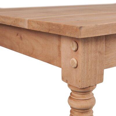 Three Posts Brentford Wood Coffee Table