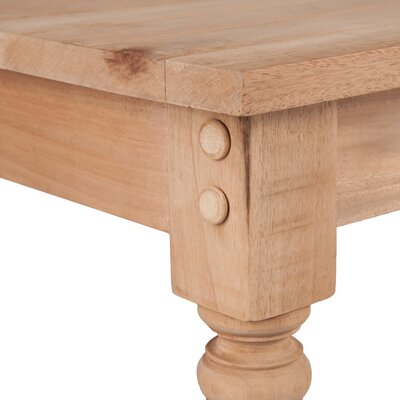 Three Posts Brentford Wood Console Table