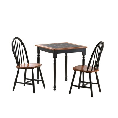 Boraam Industries Inc 3 Piece Square Dining Set
