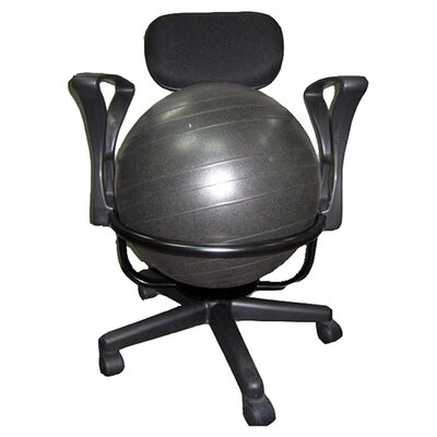 AeroMAT Low-Back Deluxe Exercise Ball Chair