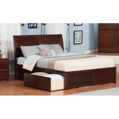 Atlantic Furniture Portland King Storage Platform Bed