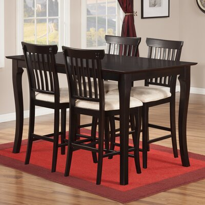 Darby Home Co Newry 5 Piece Counter Height Dining Set
