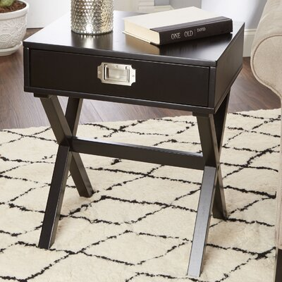 Nice Red Barrel Studio Curland Campaign End Table U0026 Reviews | Wayfair