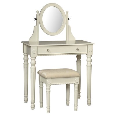 Linon Lorraine Vanity Set with Mirror