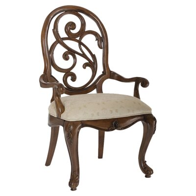 American Drew Jessica Mcclintock Splat Back Arm Chair