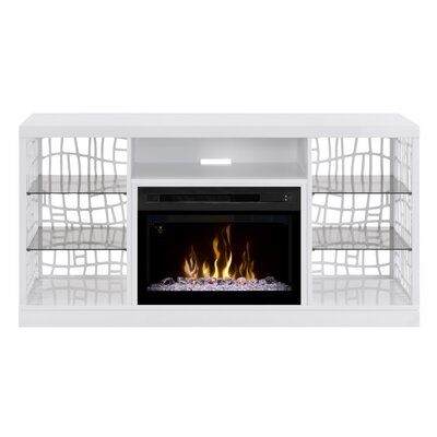 Dimplex Charlotte TV Stand with Electric Fireplace