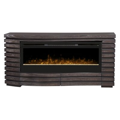 Dimplex Elliot TV Stand with Electric Fireplace