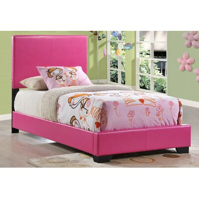 Global Furniture USA Upholstered Panel Bed