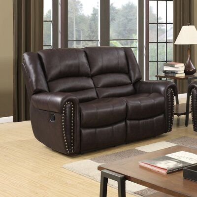 Three Posts Bromley Reclining Loveseat