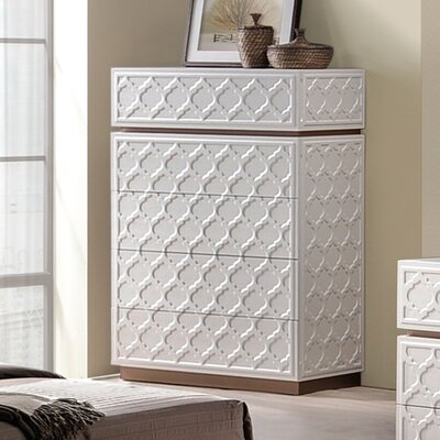 Latitude Run Dobson 5 Drawer Chest
