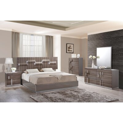 Global furniture usa platform customizable bedroom set for Bedroom furniture usa