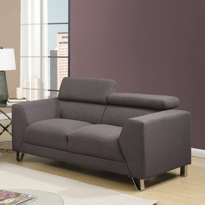Wade Logan Stanton Adjustable Headrest Loveseat