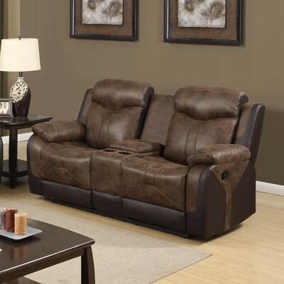 Global Furniture USA Reclining Loveseat