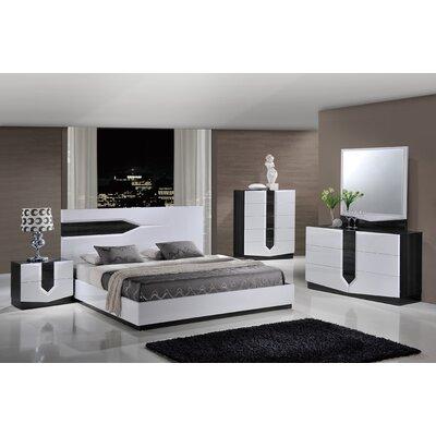 Global Furniture USA Hudson Panel Bed Customizable Bedroom Set