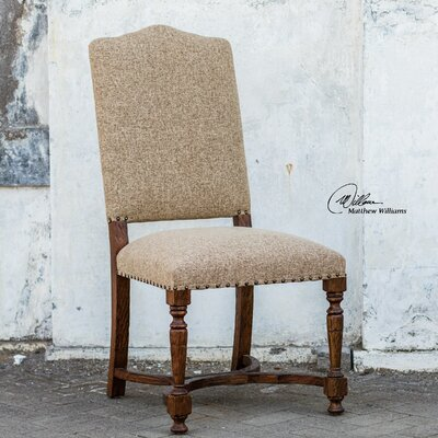 Uttermost Pierson Textured Linen Side Chair
