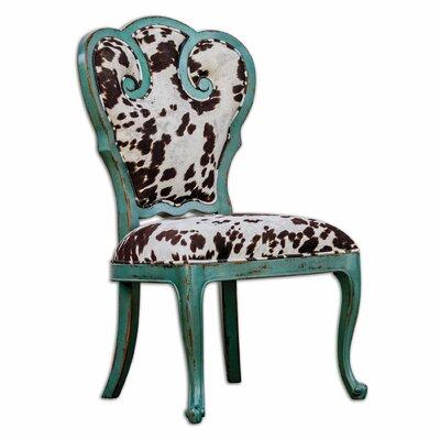 Uttermost Chahna Velvet Side Chair