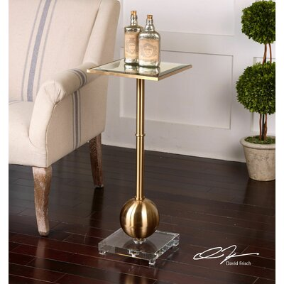 Uttermost Laton Mirrored End Table