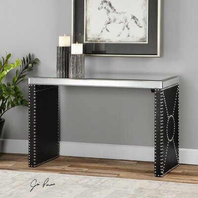 Uttermost Lucero Mirror Console Table