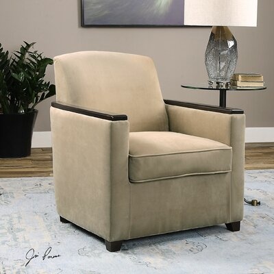 Uttermost Kempton Modern Arm Chair