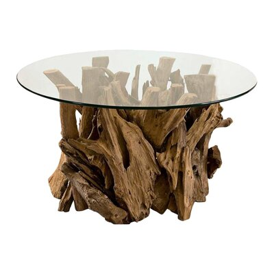 Beachcrest Home Mohall Driftwood Coffee Table