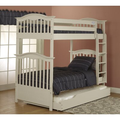 Orbelle Trading Twin Bunk Bed with Trundle