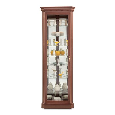 Philip Reinisch Co. Lighthouse Octave III Corner Curio Cabinet