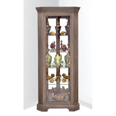 Philip Reinisch Co. Newport I Corner Curio Cabinet