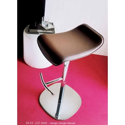 Bontempi Casa Lez Adjustable Height Swivel Bar Stool