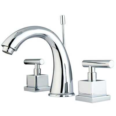 Elements Of Design Rio Double Handle Widespread Bathroom Faucet With Pop Up Reviews Wayfair