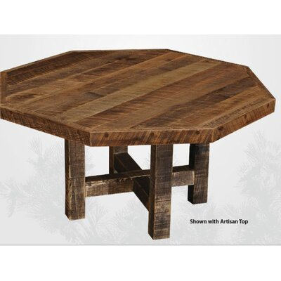 Fireside Lodge Artisan Barnwood Octagon Dining Table