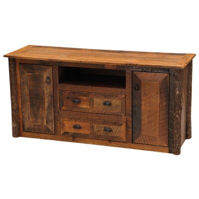 Fireside Lodge Barnwood Widescreen TV Stand