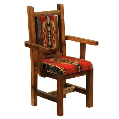 Fireside Lodge Barnwood Arm Chair