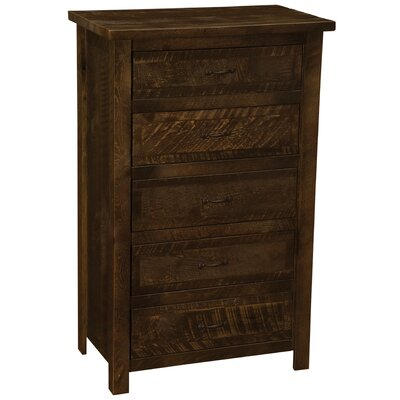 Fireside Lodge Frontier 5 Drawer Chest