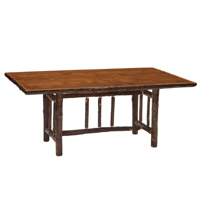 Fireside Lodge Hickory Rectangle Dining Table