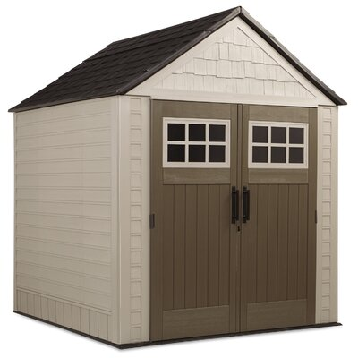 Double Wall Resin Storage Shed