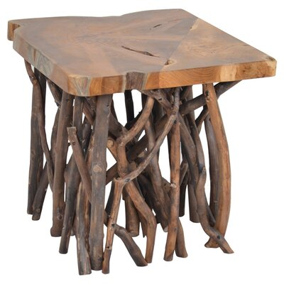 Bay Isle Home Northborough Teak Side Table