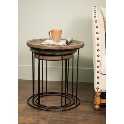 Brayden Studio Indus 3 Piece Nesting Tables