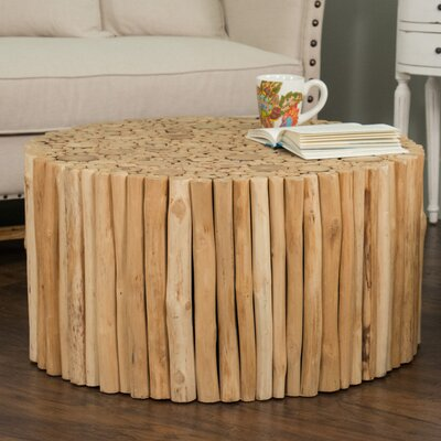 Beachcrest Home Great Heron Coffee Table